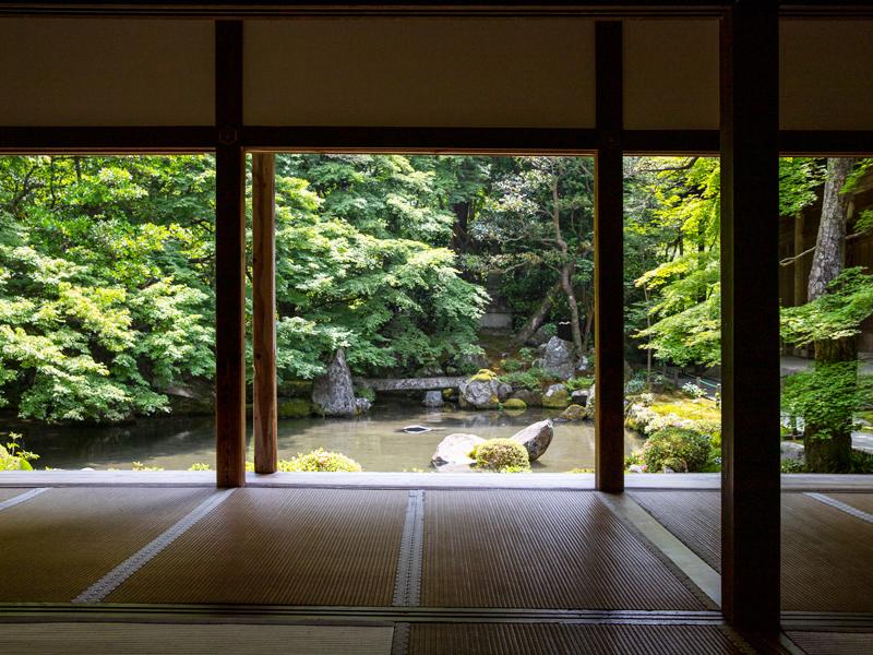 鑑賞式庭園(蓮華寺)