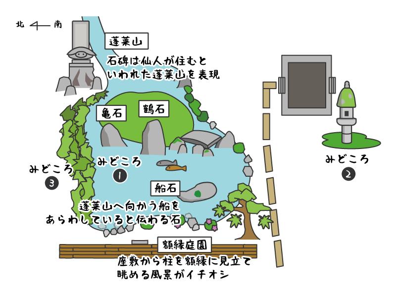 蓮華寺境内図