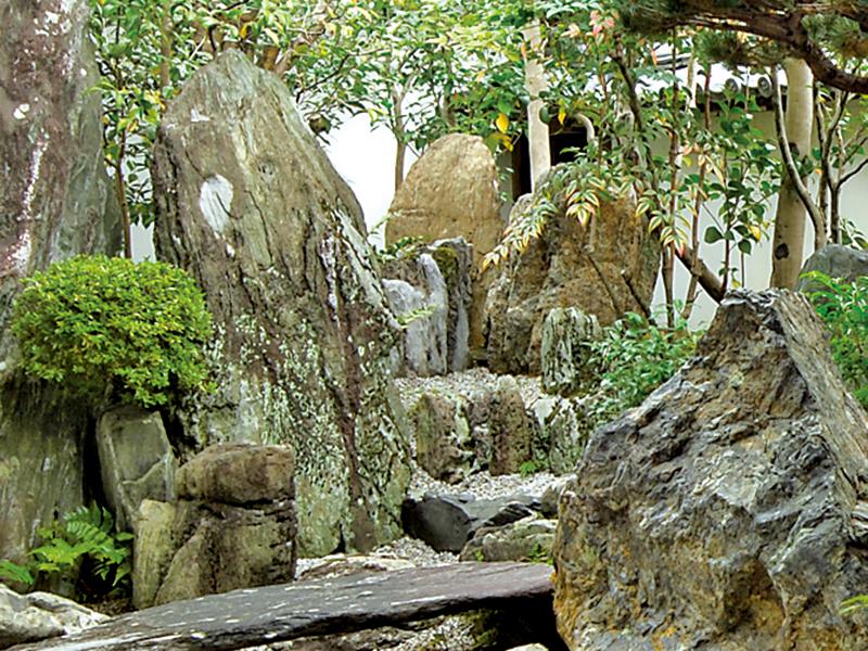 大仙院の滝石組