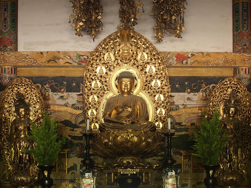 仁和寺 阿弥陀三尊像