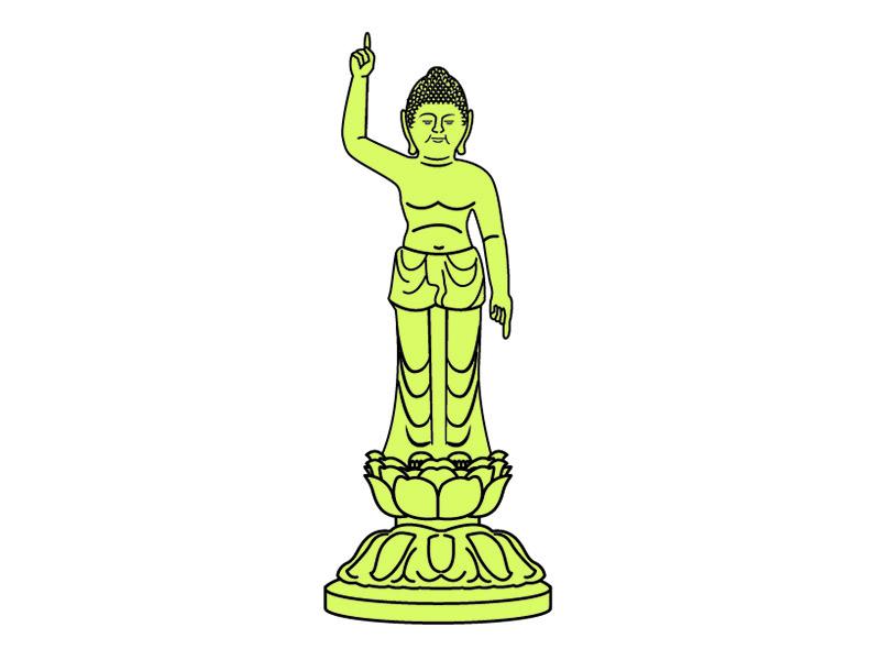 釈迦誕生仏