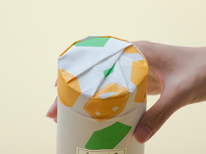 亀屋良永の包み紙