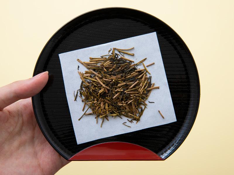 かりがねほうじ茶 香悦の茶葉