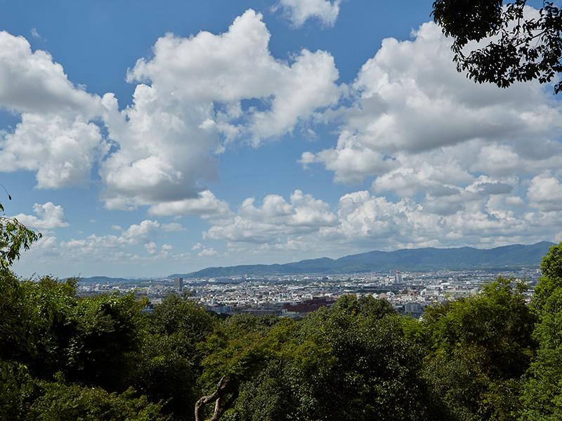 四つ辻からの景色