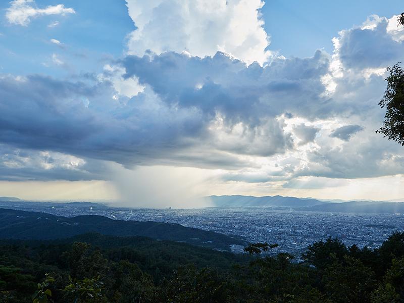 大文字山からの眺望