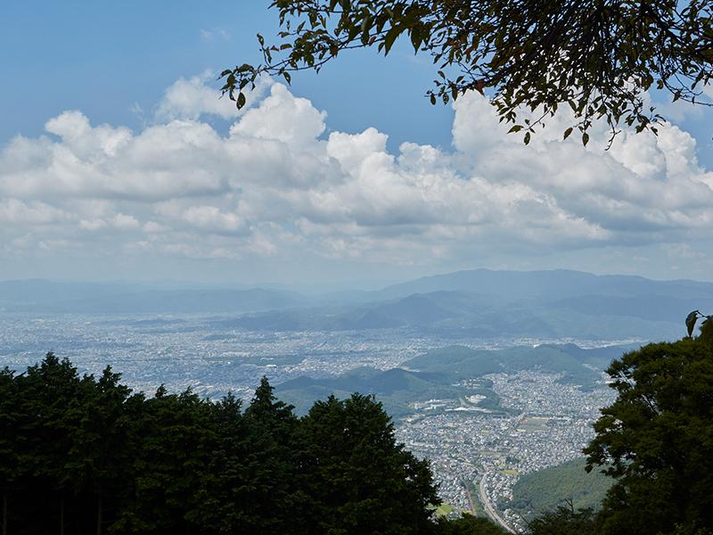 比叡山からの景色