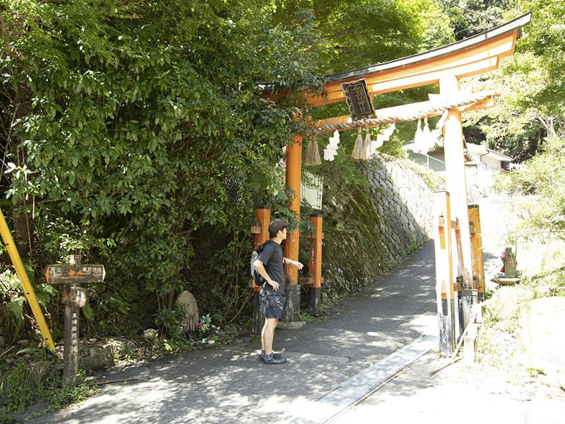 愛宕神社の二の鳥居