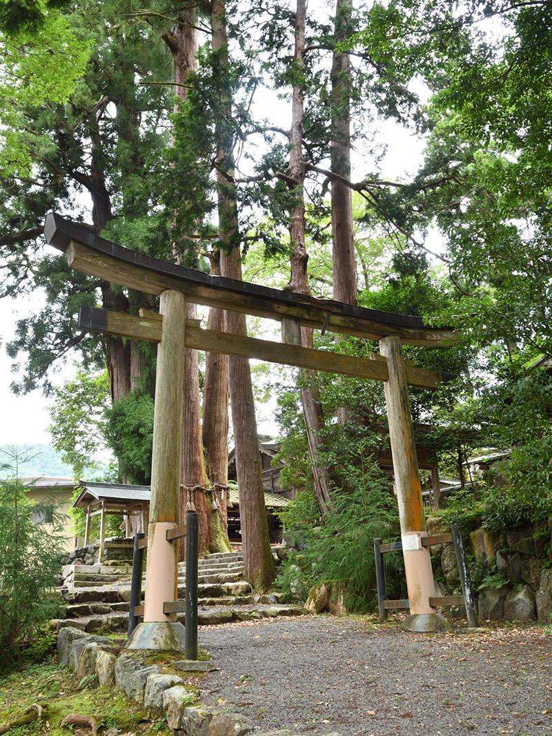 静原神社の鳥居