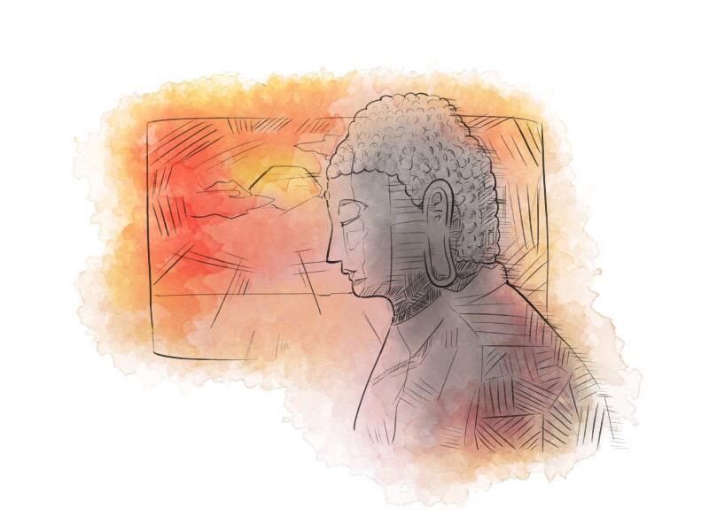 金戒光明寺の阿弥陀石仏