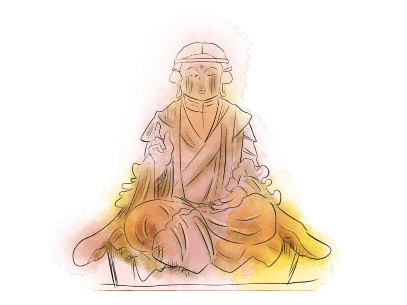 仁和寺の悉達太子座像