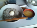 [朝ごはん]しらす丼温玉&納豆のせ・大根の味噌汁