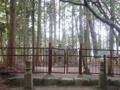 楠木正儀の首塚