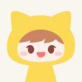笑顔の黄色ネコ