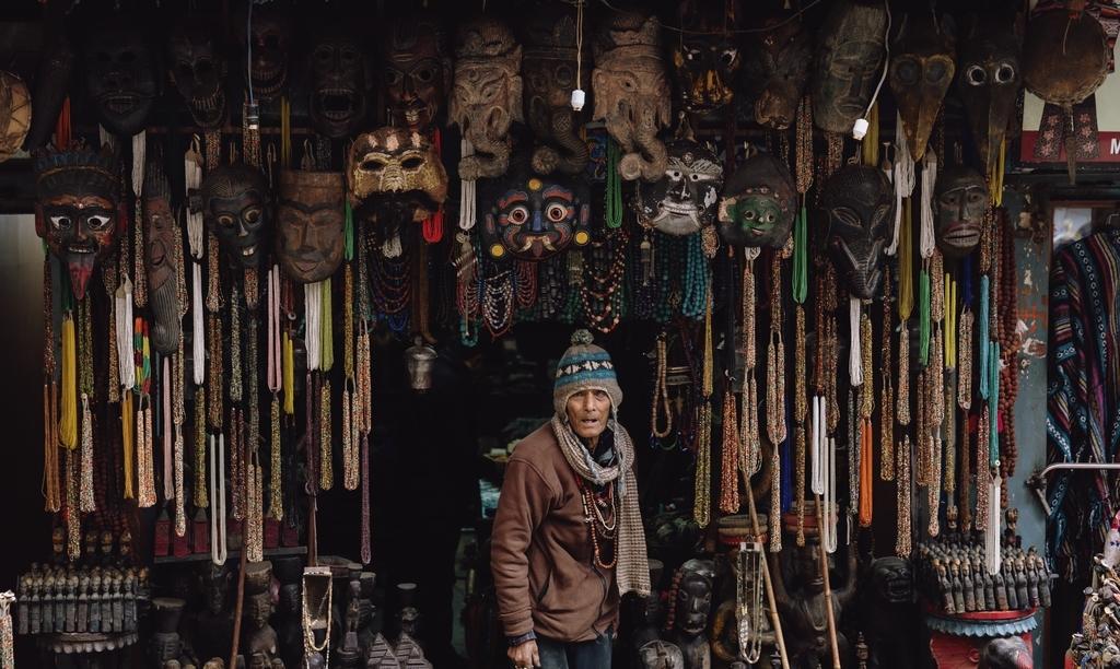 商人の写真