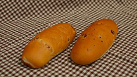 納豆パンの写真