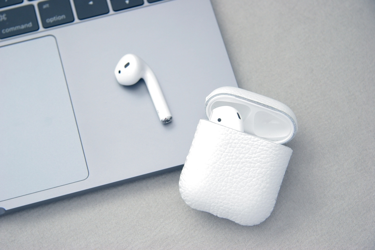 Macbook proとAir pods