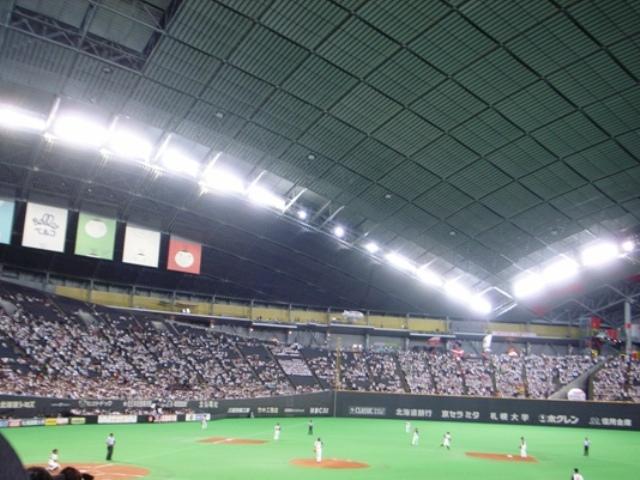 札幌ドーム 楽天×日本ハム