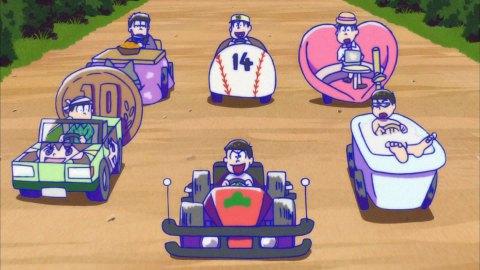 おそ松さん18話 逆襲のイヤミ カーレース