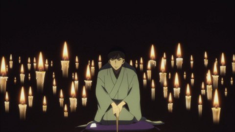 昭和元禄落語心中 10話 菊比古 死神