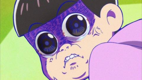 おそ松さん23話 トッティ 伝説の顔