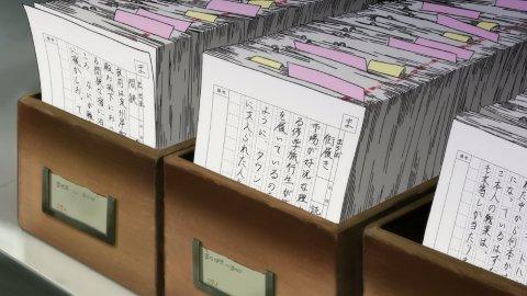 用例採集カード アニメ 舟を編む