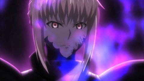 フェイトグランドオーダー アニメ セイバーオルタ