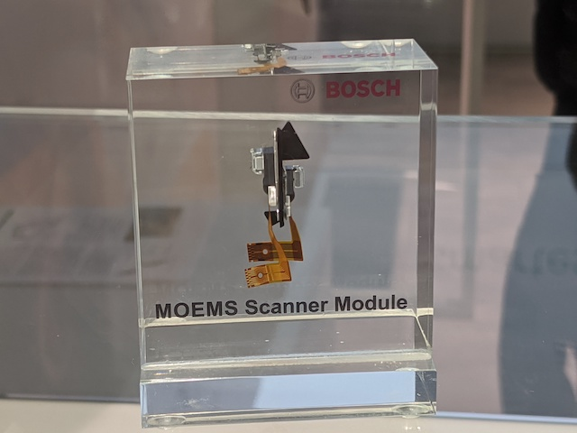 MOEMS Scanner Module