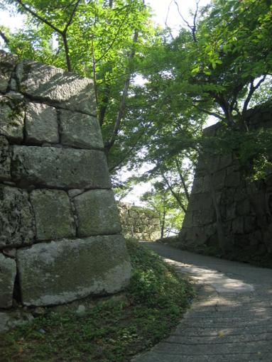 丸亀城 参道