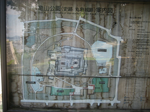 丸亀城 古図面
