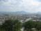 丸亀城 象頭山 遠景
