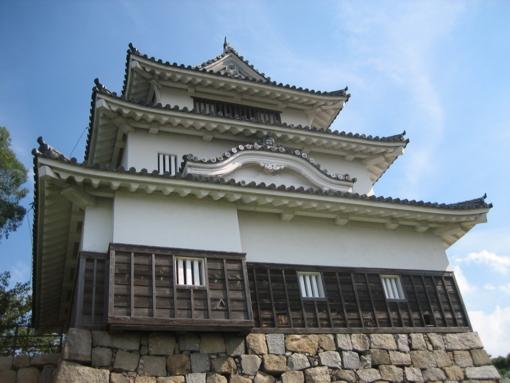 丸亀城 日本で一番小さい天守