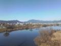 [甍][空][岸辺][塀][吉志部]阪急 桂川橋梁から