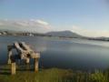 池の上の山
