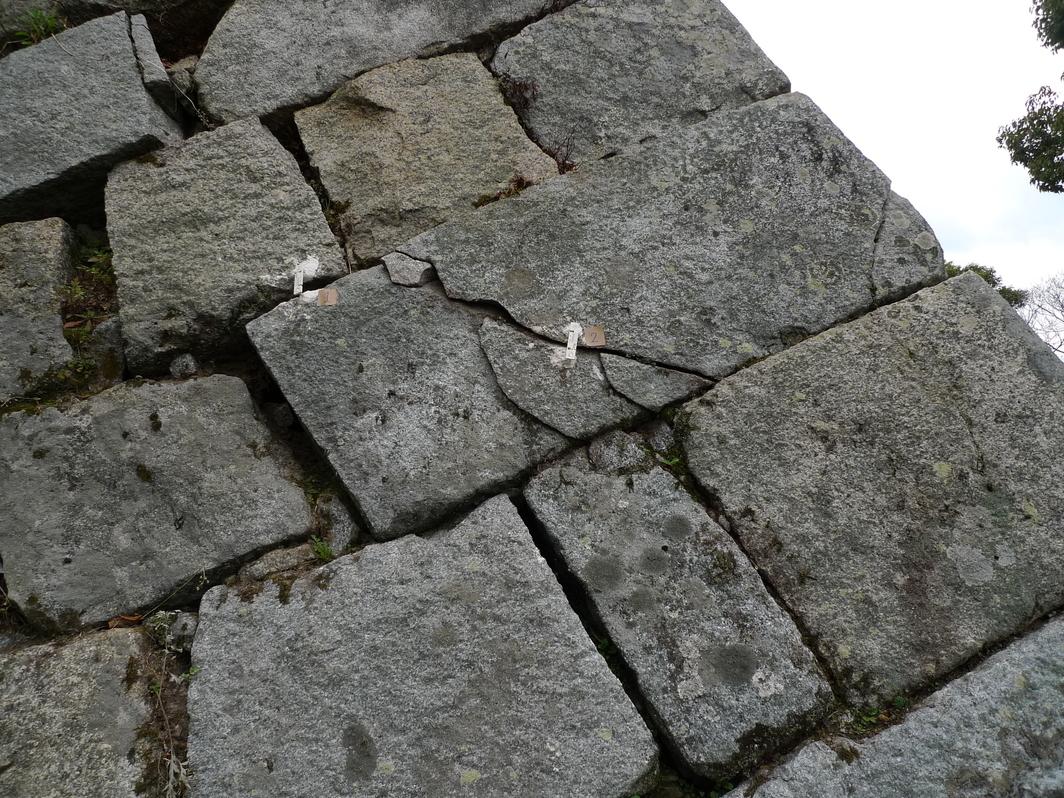 [丸亀城][石垣]