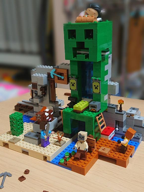 マインクラフトのレゴ