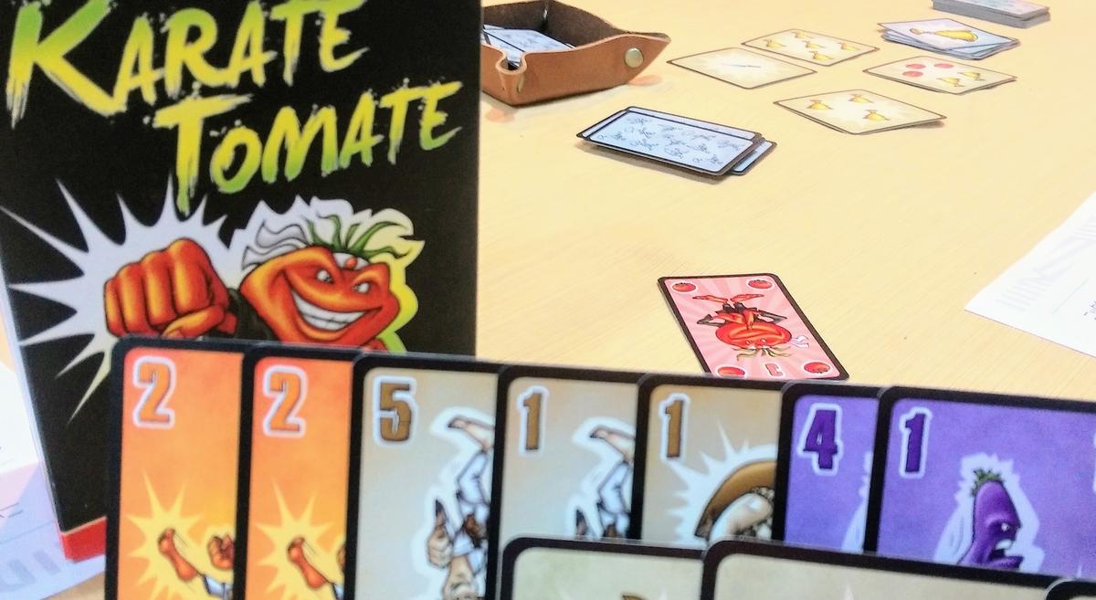 カラテでトマトなのに刃物なゲームカラテトマト