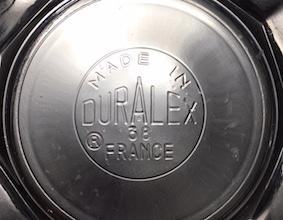 デュラレックス 底面のブランドロゴ