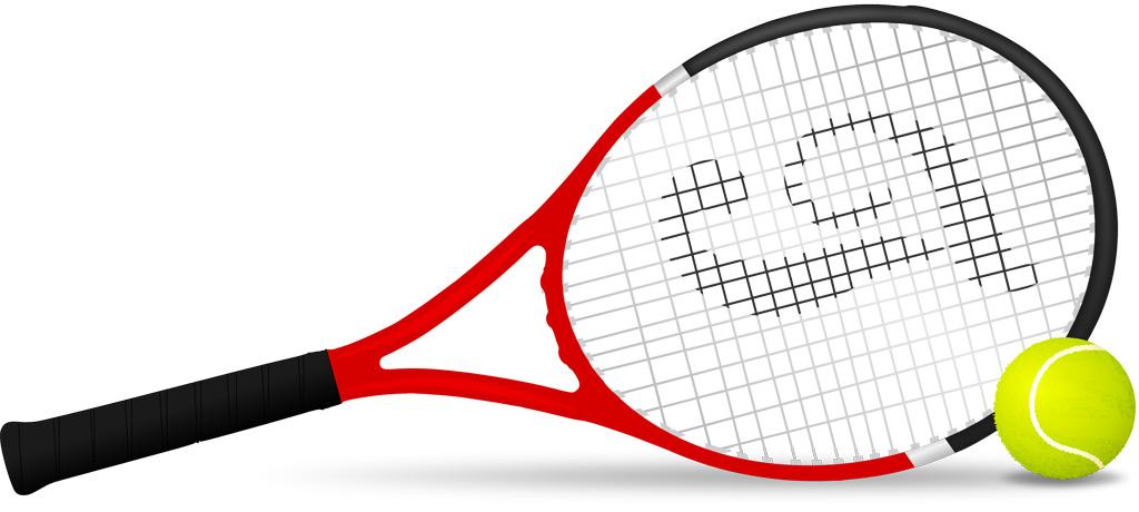 遺品のテニスラケット