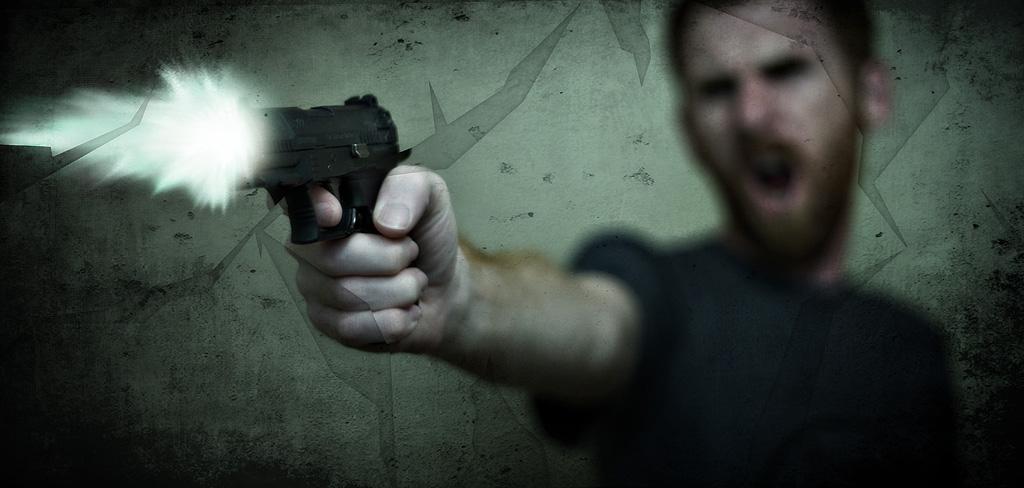 銃乱射事件
