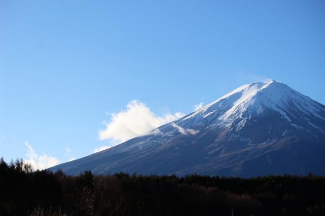 富士山と青木ケ原樹海