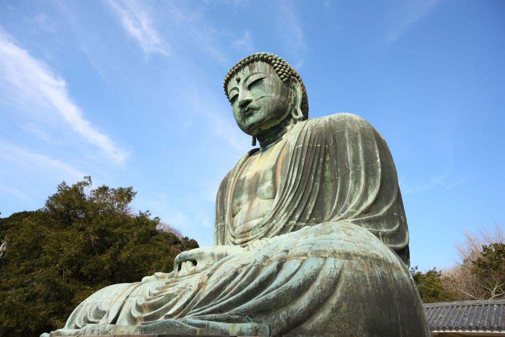鎌倉の大仏で有名な高徳院の阿弥陀如来像