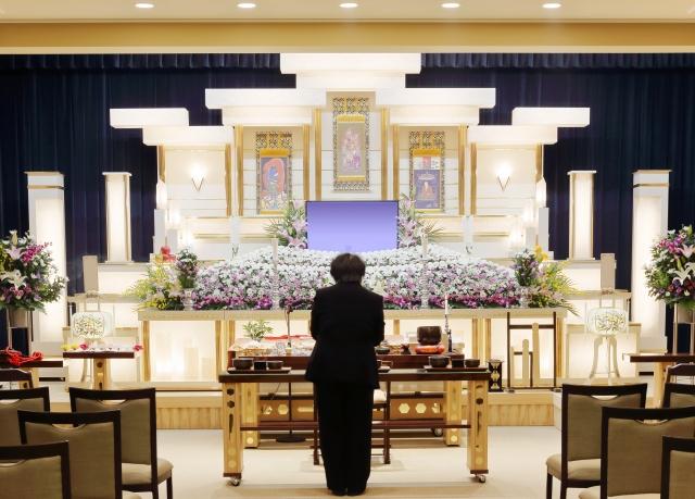 葬儀の斎場