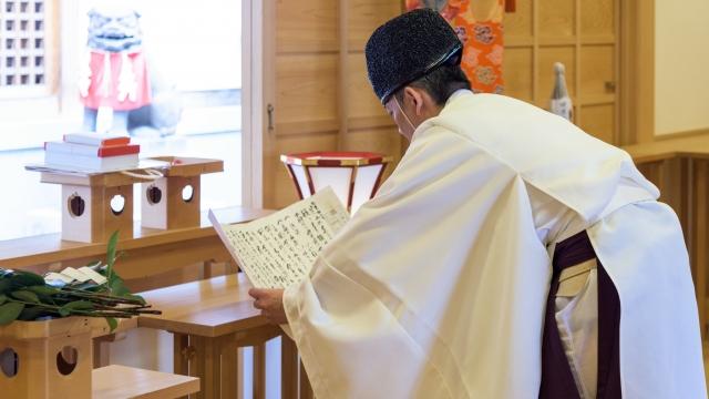 新総裁の神葬祭の葬儀