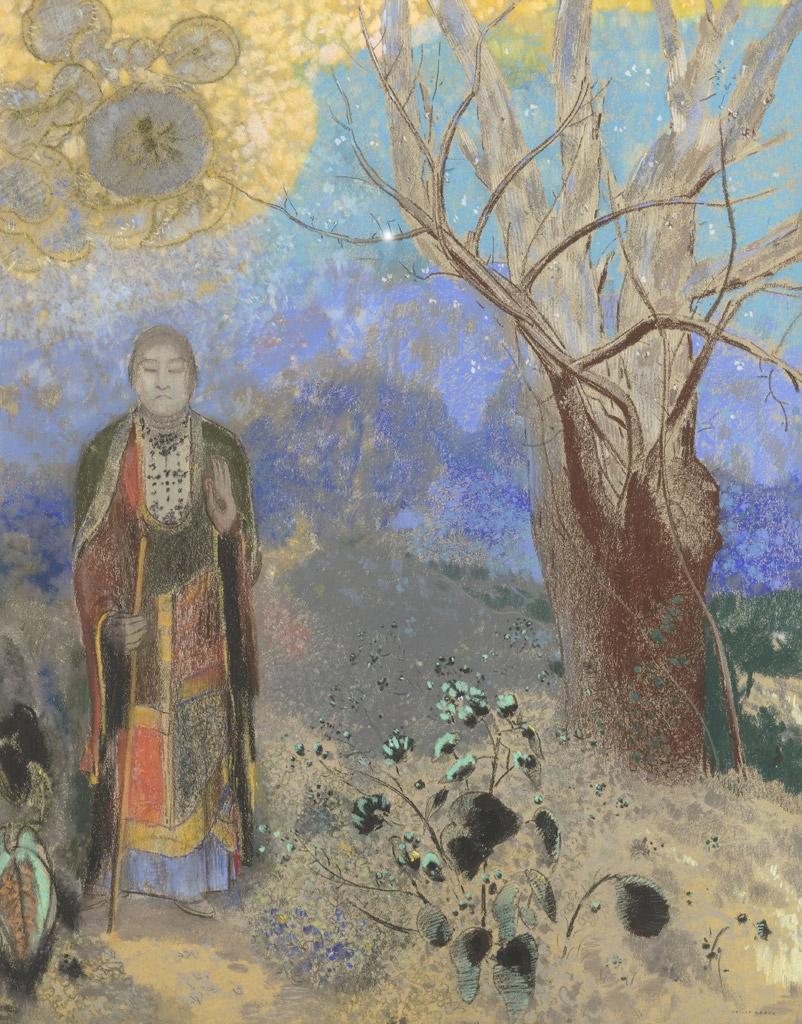 (【釈迦】オディロン・ルドン オルセー美術館