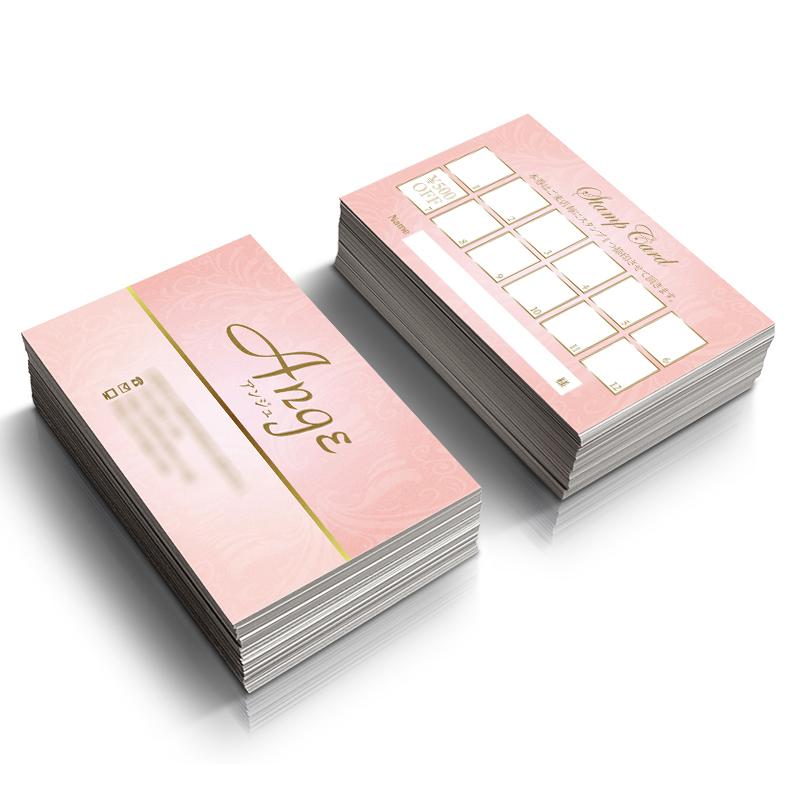 女性名刺,可愛い,名刺,ショップカード,印刷,デザイン,カード印刷