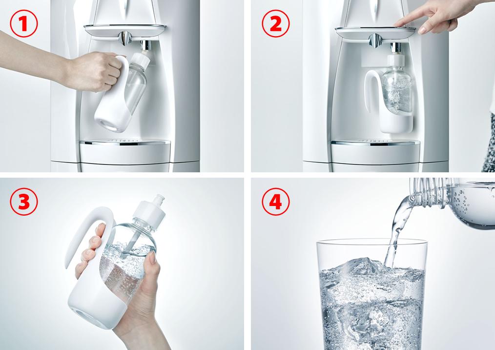 キララ 炭酸水の作り方