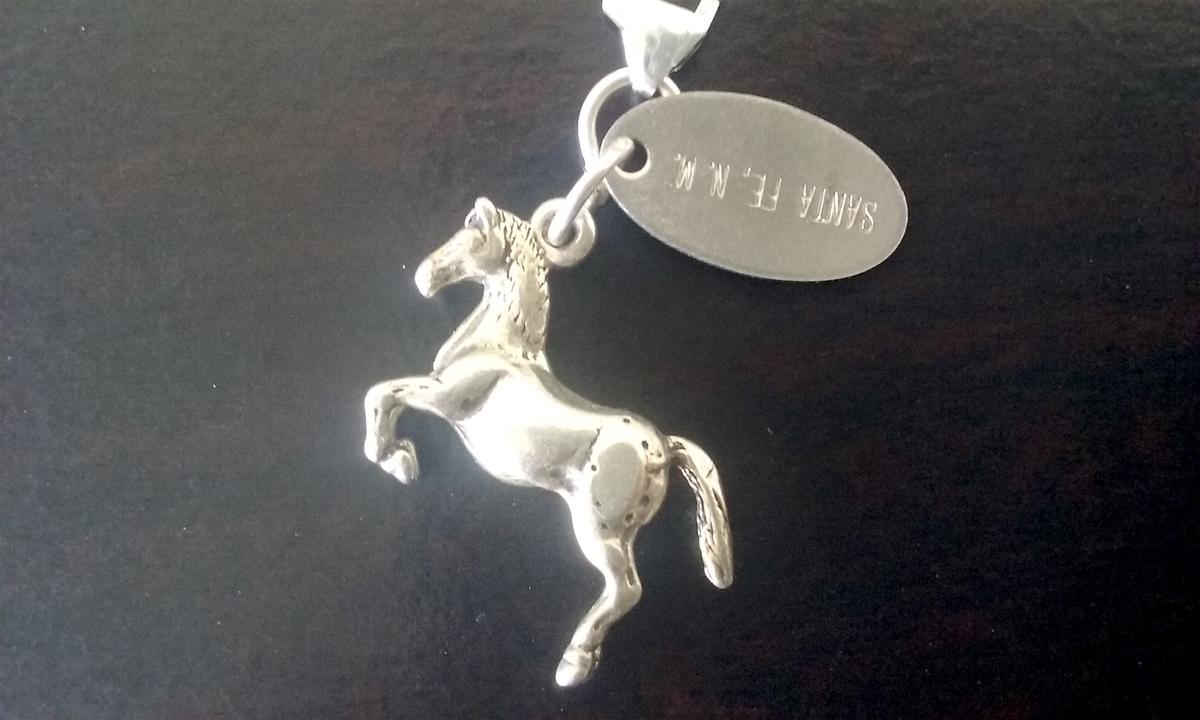 シルバー製の馬のチャーム