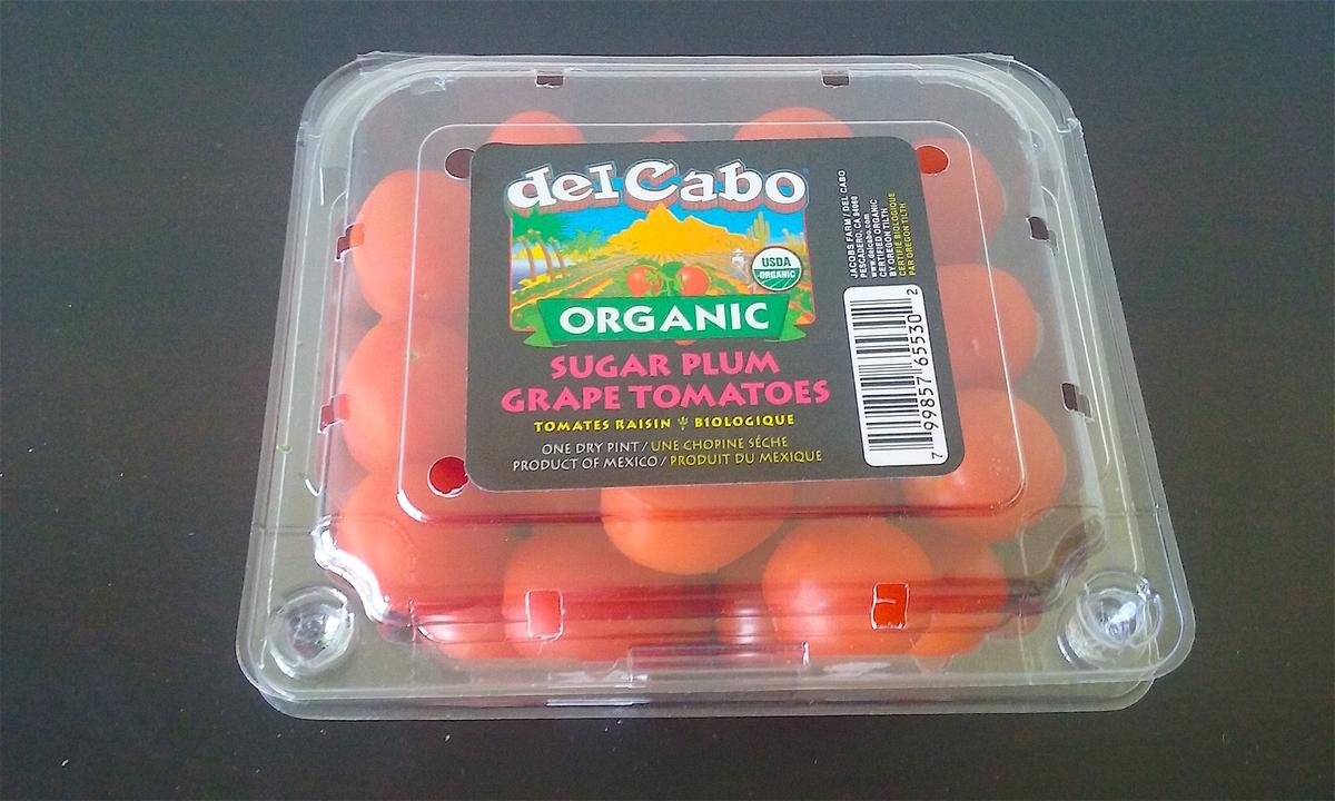ミニトマトの写真。