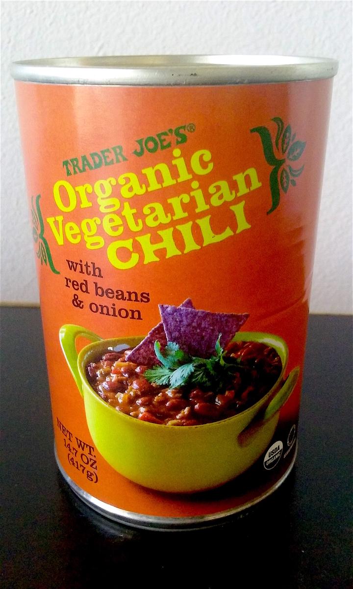 ベジタブルチリ缶の缶詰。
