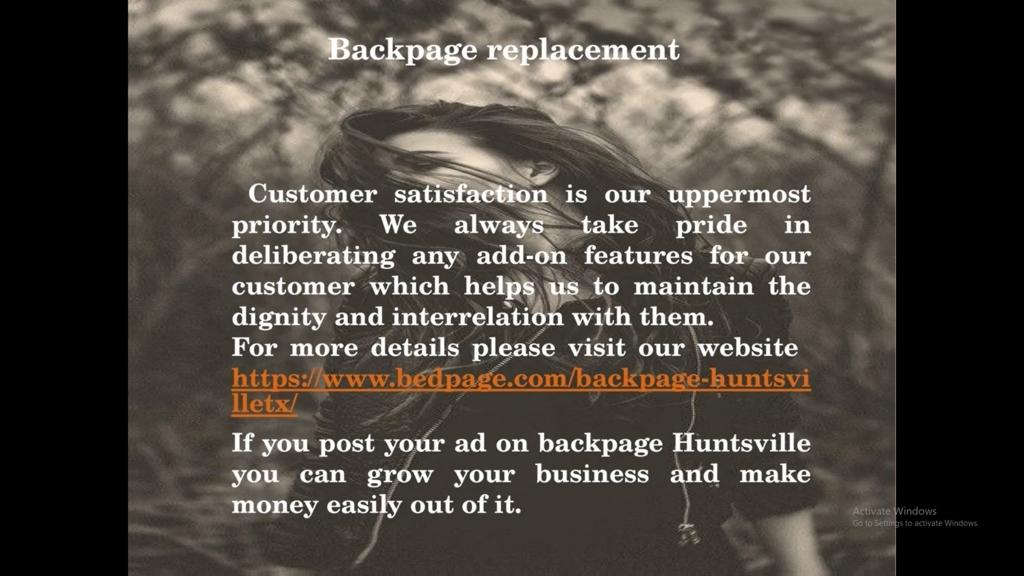 SUSANNA: Backpage alabama huntsville